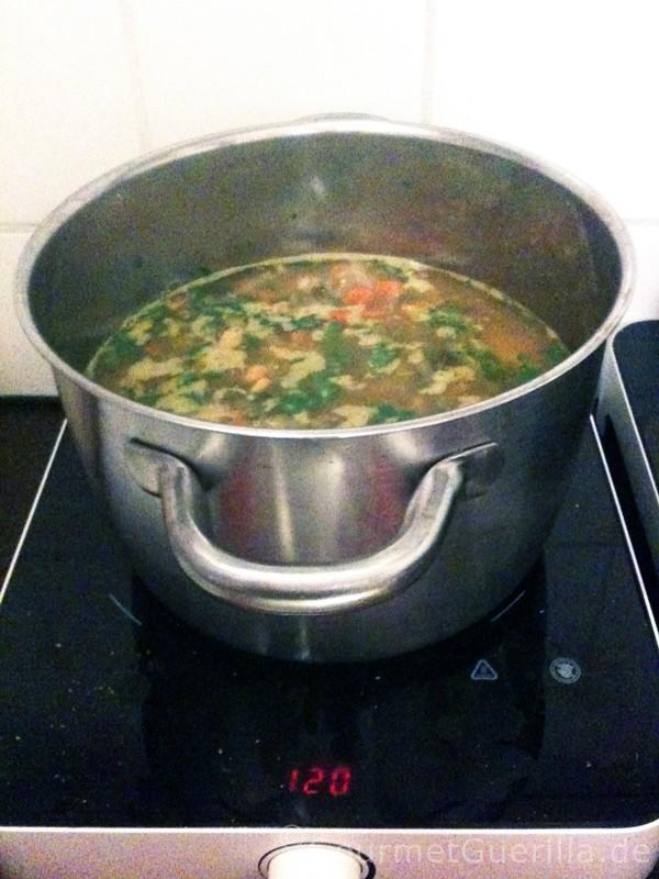 Suppe – immer wieder Suppe