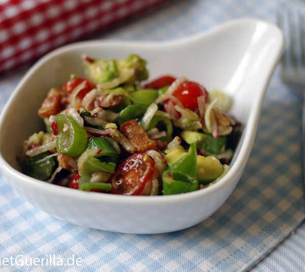 Mexikanischer Avokadosalat #rezept #gourmetguerilla