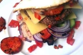 Inside Out Ranch Burger |GourmetGuerilla.de