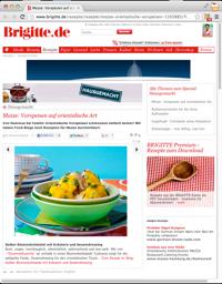 GourmetGuerilla bei Brigitte.de