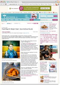 GourmetGuerilla bei Lecker.de
