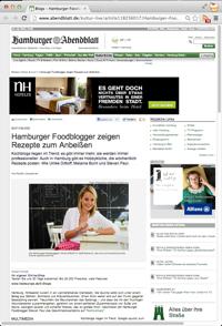 GourmetGuerilla im Hamburger Abendblatt