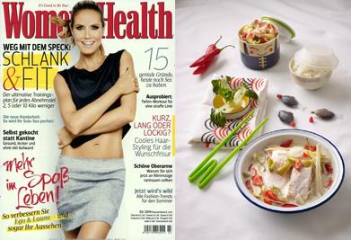 GourmetGuerilla Rezeptentwicklung und Styling für Women´s Health
