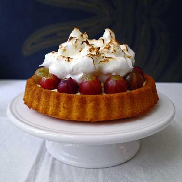 Stachelbeertörtchen mit Baiser |GourmetGuerilla