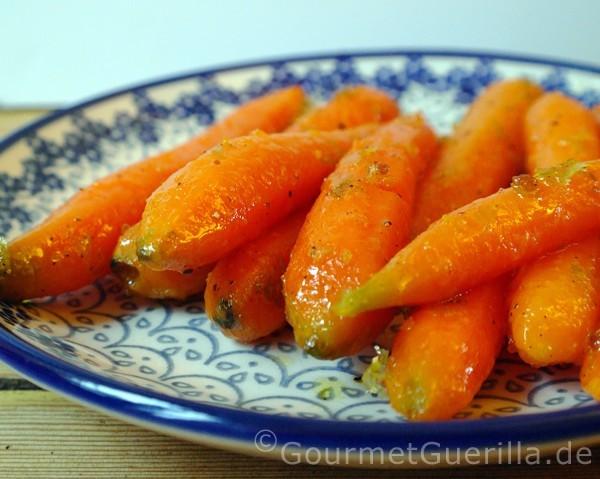 Glasierte Möhrchen mit Limetten |GourmetGuerilla.de