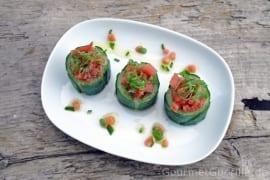 Gurken mit Melonensalat |GourmetGuerilla.de
