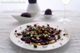 Rote Beete Carpaccio #rezept #gourmetguerilla
