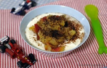 Joghurt mit Apfelkompott  GourmetGuerilla.de