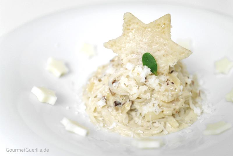 Shirataki in Uiegencarbonara |GourmetGuerilla.de