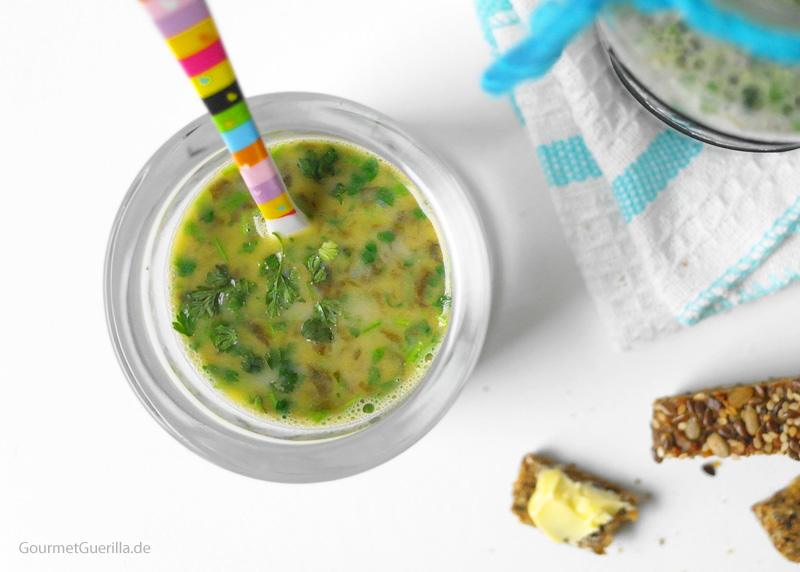 Sauerampfersüppchen mit Kerbel | GourmetGuerilla.de
