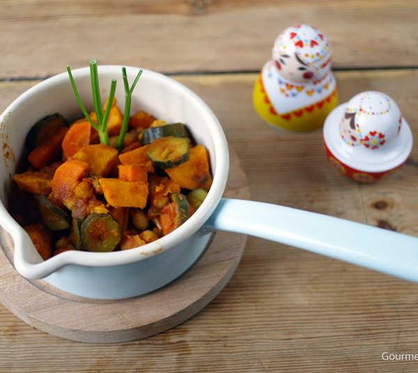 Tajine mit Kichererbsen |GourmetGuerilla.de
