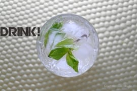 Ginger-Lemon-Julep #rezept #drinks #gourmetguerilla