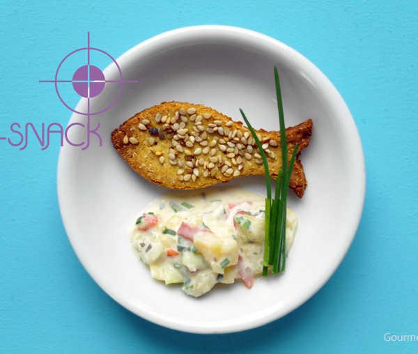 Kichererbsen Fischlis gesunder Knabberkram |GourmetGuerilla.de
