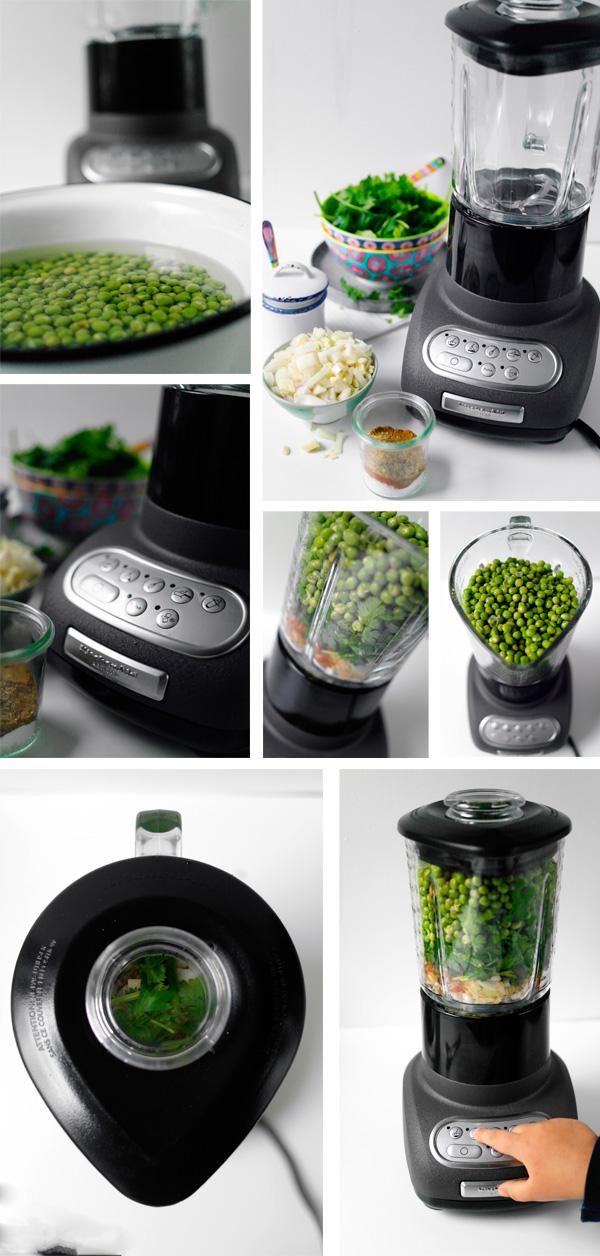 Smaragdgrüne Erbsen- Falafeln zubereiten |GourmetGuerilla.de