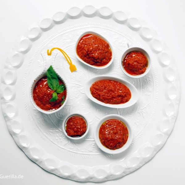 Rohe Tomatensoße #rezept #gourmetguerilla #vegan