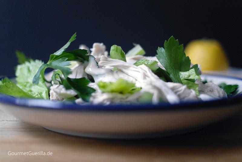 Hühnchensalat #rezept #gourmetguerilla