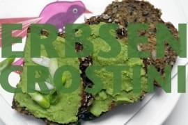 Erbsen-Crostini |GourmetGuerilla.de