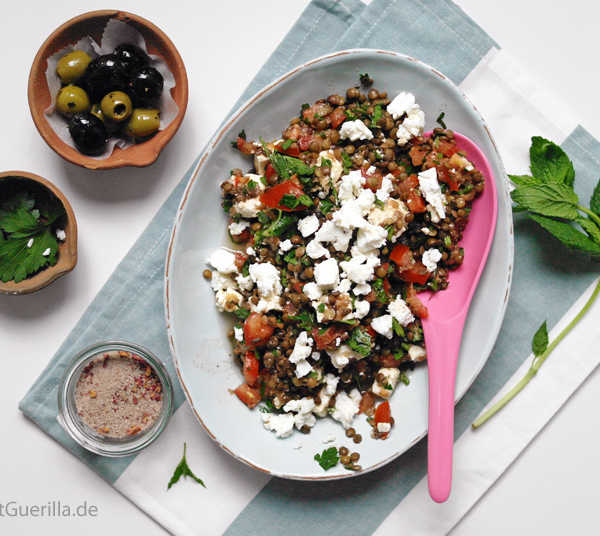 Taboulé von der Linse #rezept #gourmetguerilla