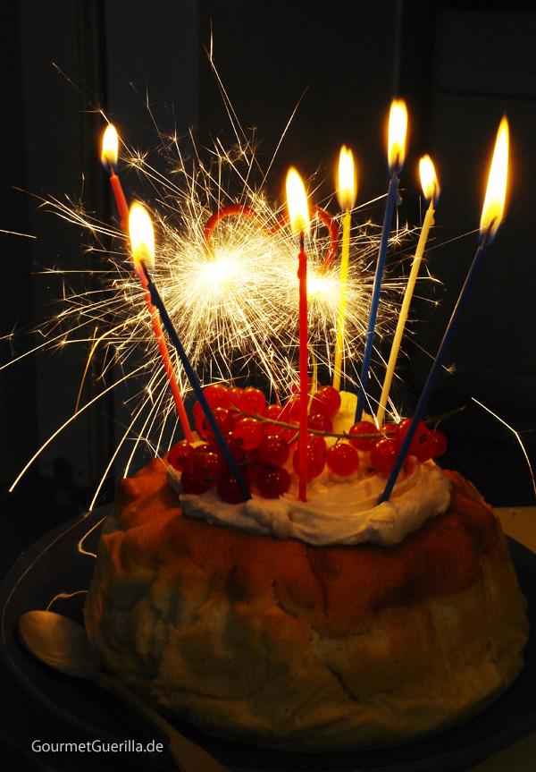Geburtstagskuchen Gourmetguerilla