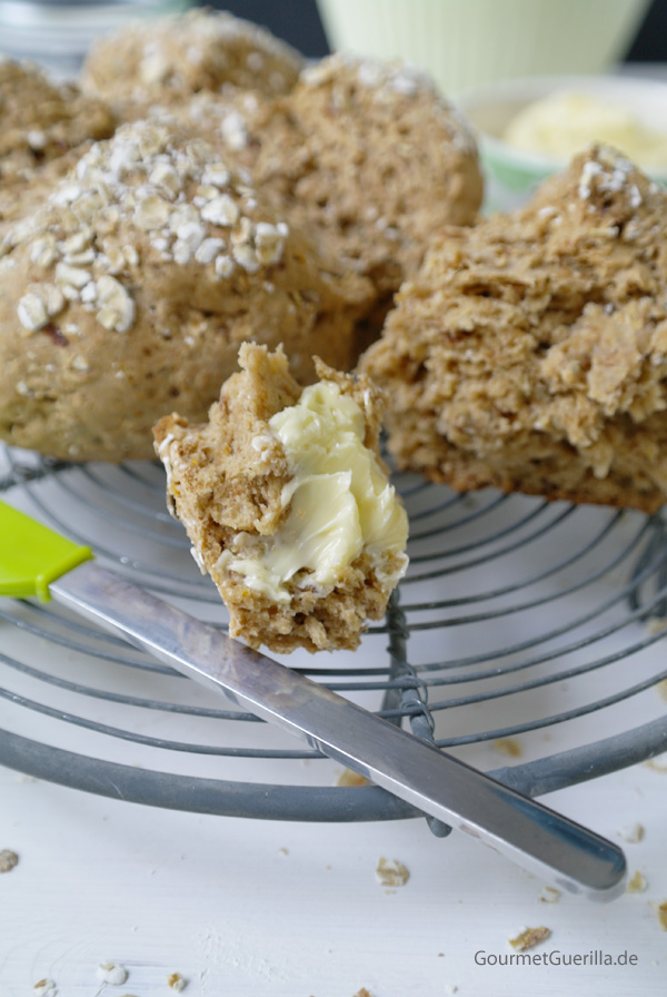 Easy-peasy 20-Minuten Haferflockenbrot |GourmetGuerilla.de