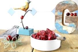 Dattel-Cranberry-Chutney #rezept #gourmetguerilla
