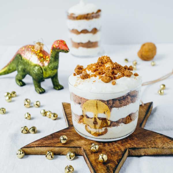 Spekulatiuscreme - ein schneller und festlicher Nachtisch im Glas |Gourmetguerilla.de