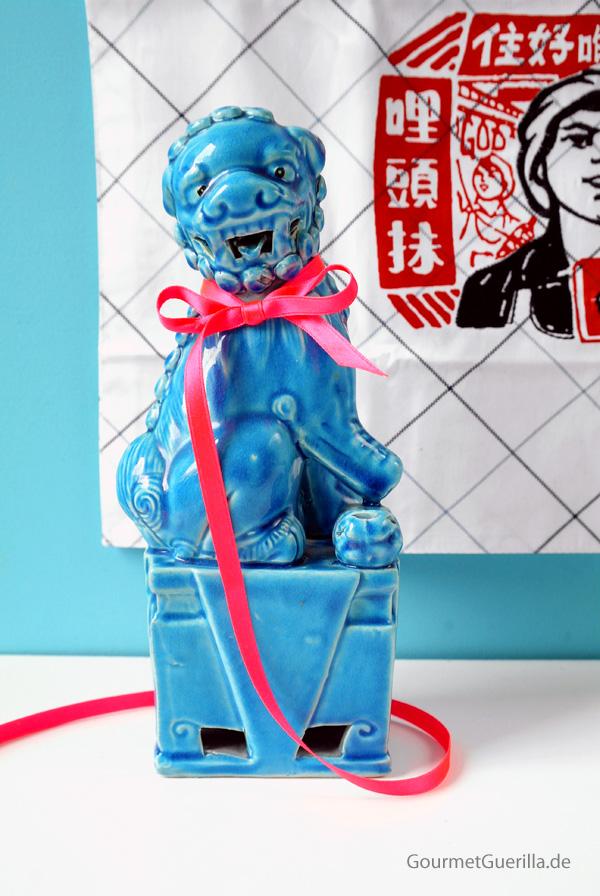 Chinesischer Loewe antik