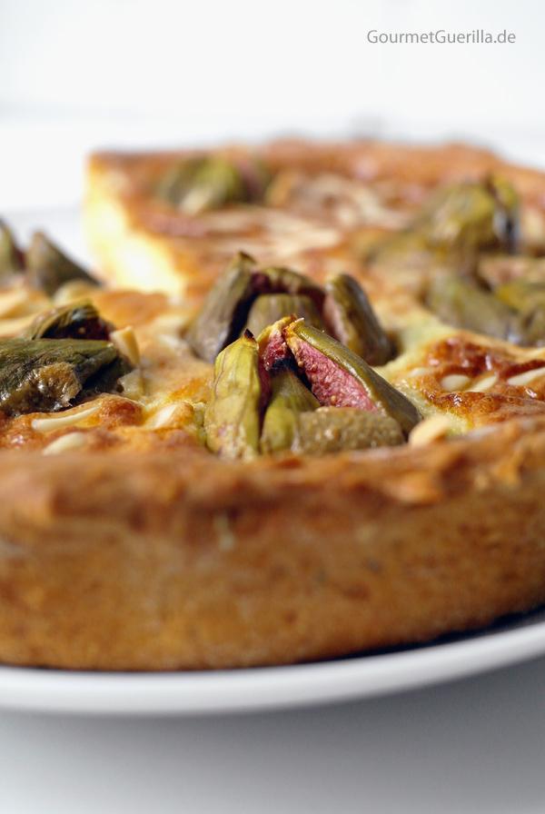Feigen-Gorgonzola-Tarte #brunch #backen #Quiche