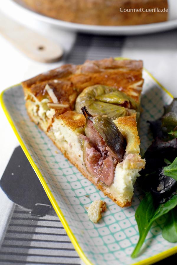 Feigen-Gorgonzola-Tarte von GourmetGuerilla #buffet #brunch #tarte