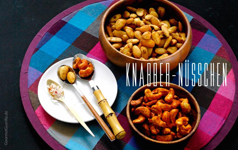 Rauchige Paprika-Mandeln und Pikante Shouyu Mandeln