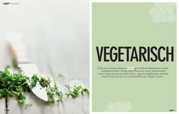 Innenseite Sonderheft slowly veggie!