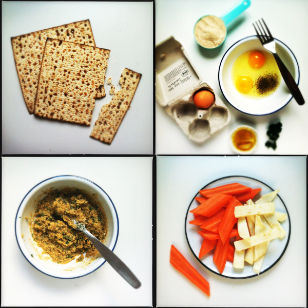 Zutaten Matzo Ball Soup aka Mazzesuppe #rezept #gourmetguerilla