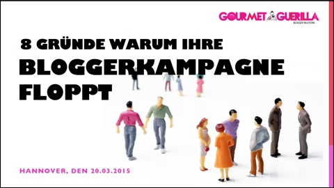 GourmetGuerilla Vortrag CeBIT Global Conferences