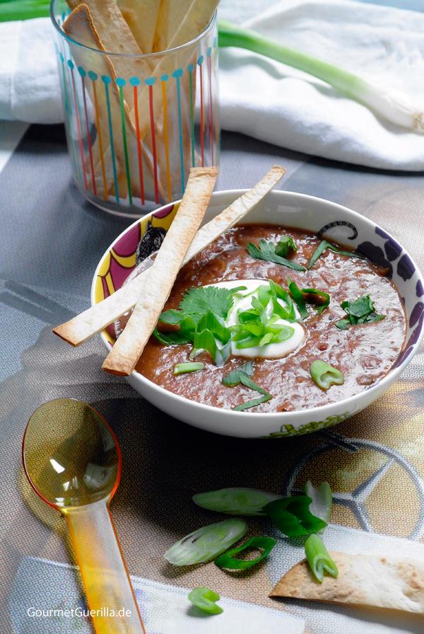 Rote Bohnensuppe Mexican Style #rezept #GourmetGuerilla #vegetarisch