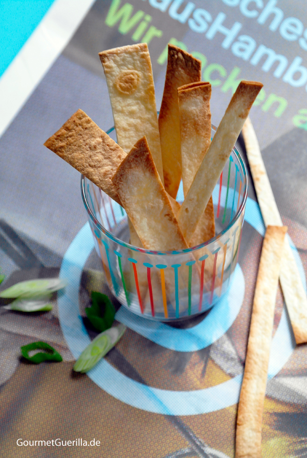 Tortilla-Sticks #Knabberkram #rezept #GourmetGuerilla #vegetarisch