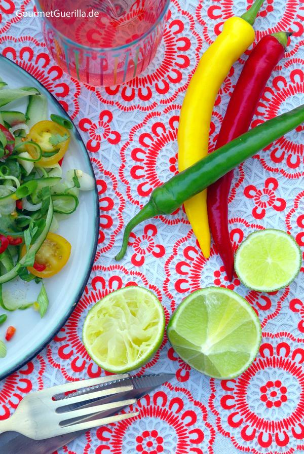 Pepperoni und Limetten #gourmetguerilla