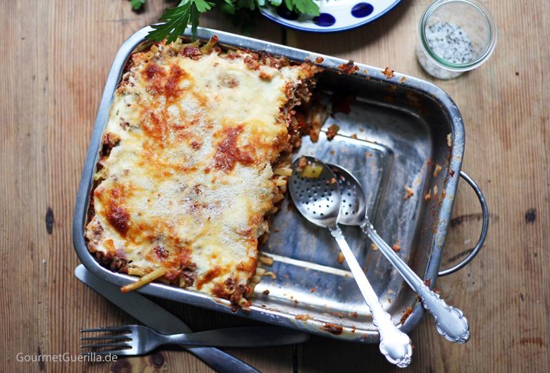 Makkaroni-Lasagne a la Mama (und ganz ohne Tüte) |GourmetGuerilla.de