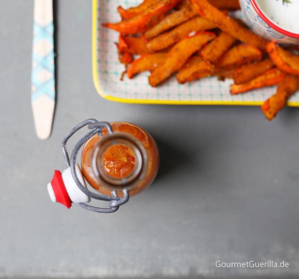 KürbispoMangoketchup #gourmetguerilla #rezept