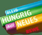 Logo Bleib hungrig auf Neues REWE