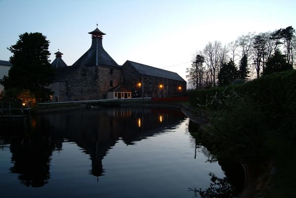 Cadhu distillery_at twilight
