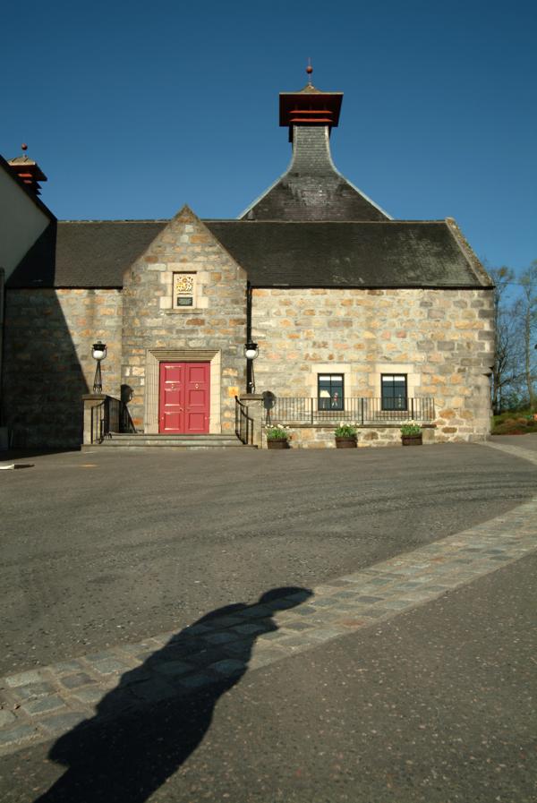 Cardhu Distillery_front entrance