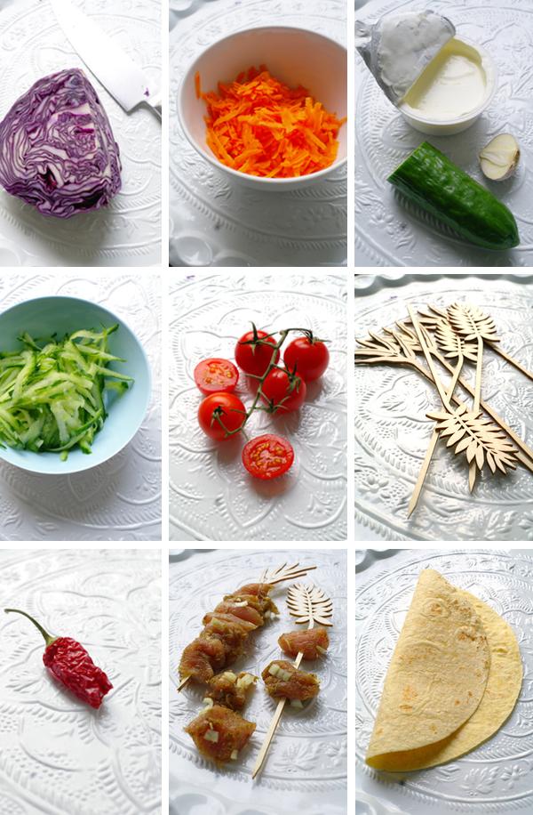 Döner Zutaten #rezept #gourmetguerilla