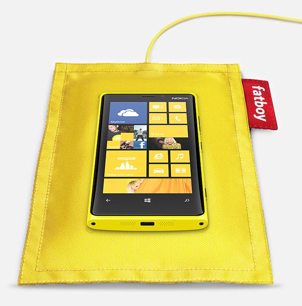 Fatboy Ladekissen Nokia Lumia
