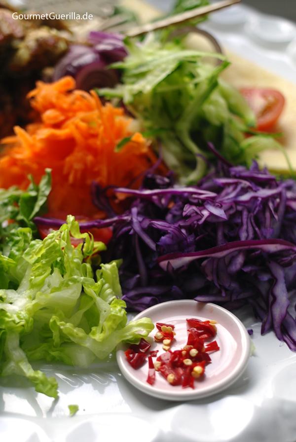 Döner Salat #rezept #gourmetguerilla