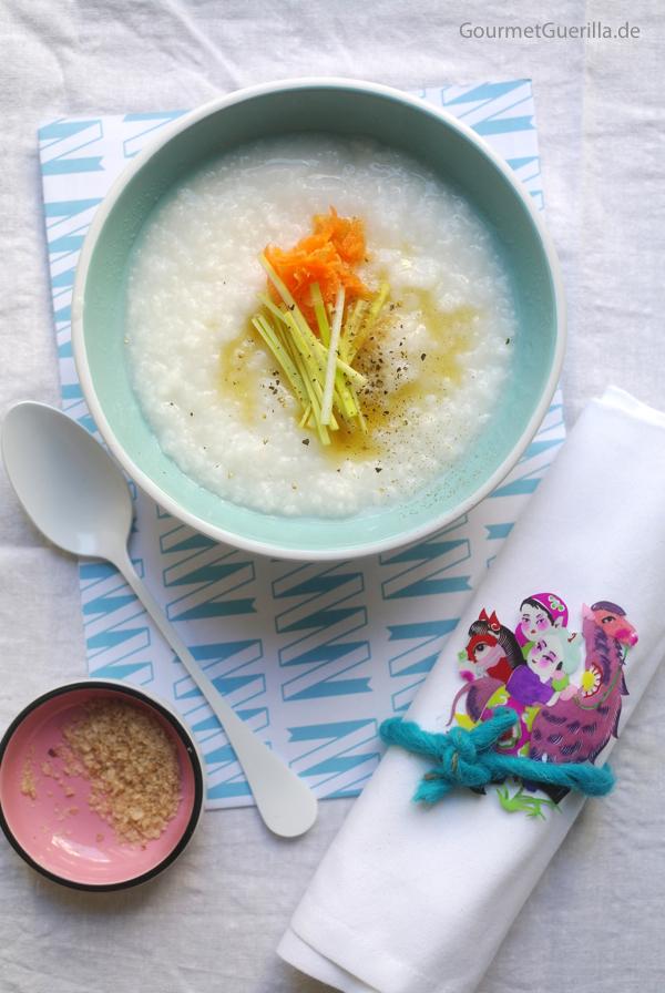 Congee Das einfachste Essen der Welt angerichtet #rezept #gourmetguerilla