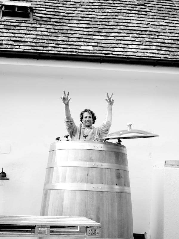 Gut Oggau Weinfass