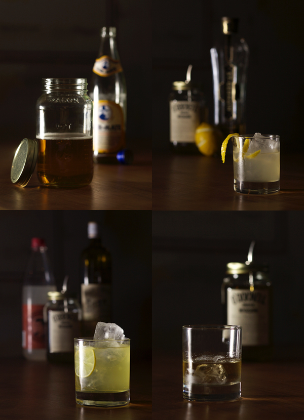 Drinks mit O´Donnell Moonshine