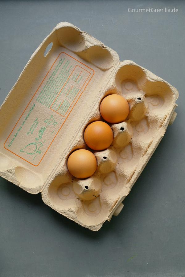 Eier im Karton #gourmetguerilla