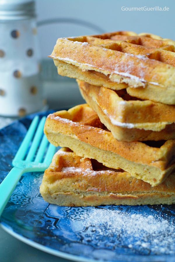 (S)low Carb Süße Linsen-Waffeln #rezept #gourmetguerilla #slowcarb