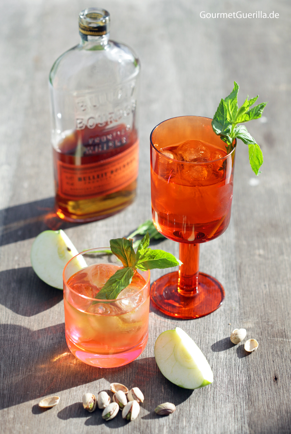 Apple-Mint-Julep #gourmetguerilla #drink #frühling #bourbon